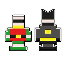 Batman & Robin... Brick Form! by Jonathan  Ladd