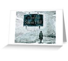 Welcome To Silent Hill Greeting Card