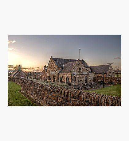 Twin Farms Photographic Print