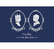 Two Sides of the Same Coin Photographic Print