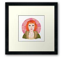 HW #6 Framed Print