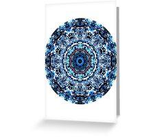 Glitch Kaleidoscope #4 Greeting Card