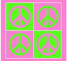 Peace Sign Four by kololo