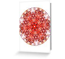 Glitch Kaleidoscope #5 Greeting Card
