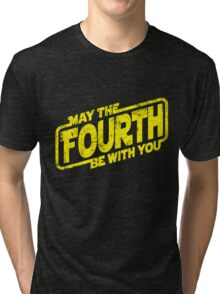 May The Fourth Be With You Tri-blend T-Shirt