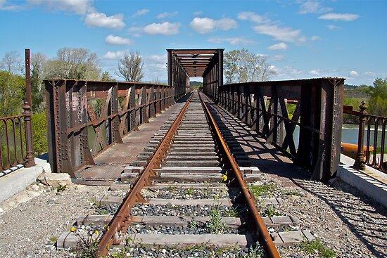 Rail Bridge by John Thurgood