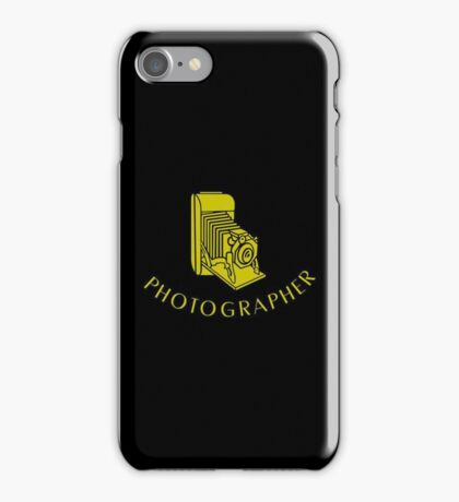 Photographer VRS2 iPhone Case/Skin