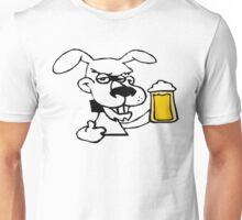 Dog Likes Drinking Beer Unisex T-Shirt