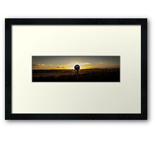 Mirror Eclipse Framed Print