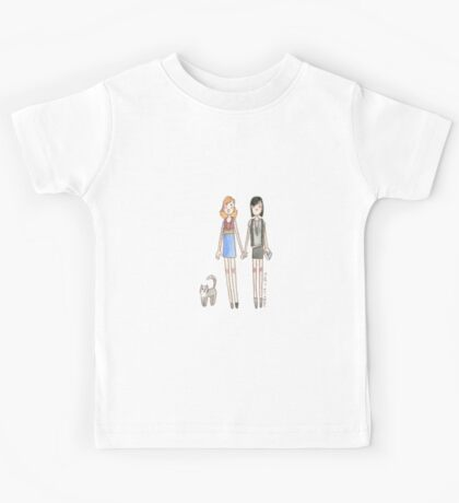 Lizzie Bennet Diaries - Kitty, Lydia, Mary Kids Tee