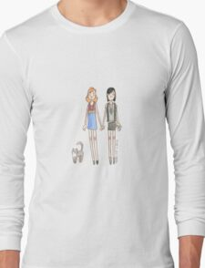 Lizzie Bennet Diaries - Kitty, Lydia, Mary Long Sleeve T-Shirt
