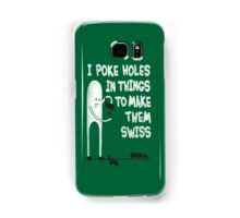 Making Swiss Happen Samsung Galaxy Case/Skin