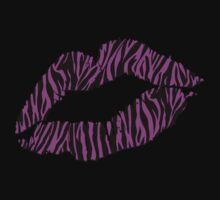 Kissy Lips – Pink Zebra by cpotter