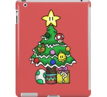 Super Mario - Mushroom Kingdom Christmas iPad Case/Skin