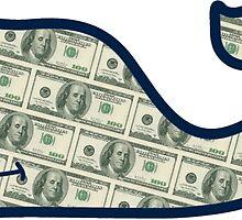 Vineyard Vines Money - Sticker by Zach Moore