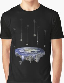 Flat Earth Graphic T-Shirt