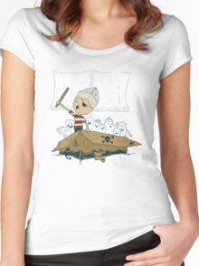 Garr Women's Fitted Scoop T-Shirt