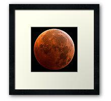 Mars: Making a pop culture comeback Framed Print