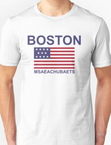 BOSTON MSAEACHUBAETS Unisex T-Shirt