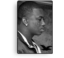 Gucci Mane/Guwop Canvas Print