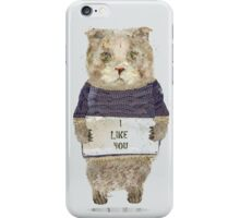 i like you iPhone Case/Skin
