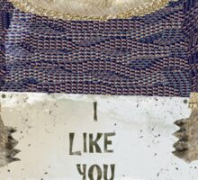 i like you Sticker