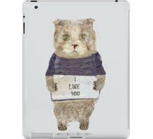 i like you iPad Case/Skin