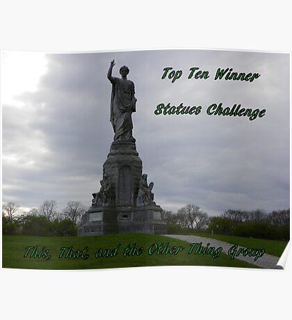 Top Ten - statues Poster