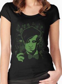 The Most Feared Being - Doctor Who Women's Fitted Scoop T-Shirt