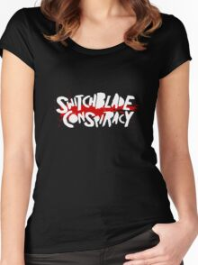 Switchblade Conspiracy Women's Fitted Scoop T-Shirt