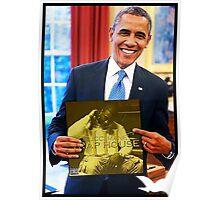 Obama/Gucci Mane- Traphouse 3 Poster