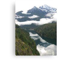 Washington Mountains Canvas Print