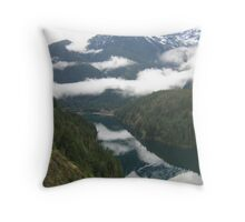 Washington Mountains Throw Pillow