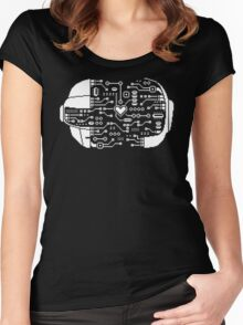 DAFT CIRCUIT Women's Fitted Scoop T-Shirt