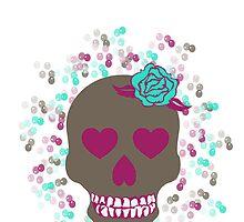Skull iPhone Case by bis4britanie