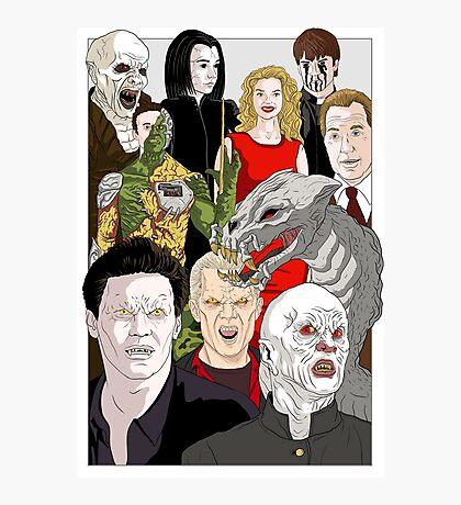 Buffy Big Bad Poster Photographic Print