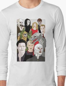 Buffy Big Bad Poster Long Sleeve T-Shirt