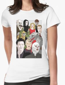 Buffy Big Bad Poster Womens Fitted T-Shirt