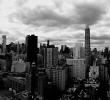 NYC Skyline by Guilherme Pontes