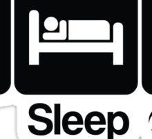 Eat Sleep Fight Heartless Sticker