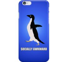 Socially Awkward Tee iPhone Case/Skin
