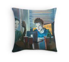 Friday Night Throw Pillow