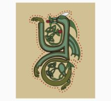 Celtic Oscar letter Y Sticker by Donna Huntriss