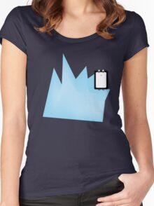 Iceberg Penguin Women's Fitted Scoop T-Shirt
