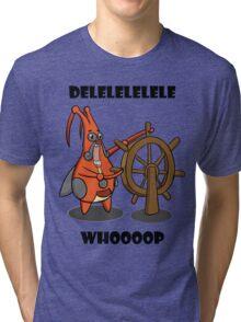 Delele Whoop! Tri-blend T-Shirt