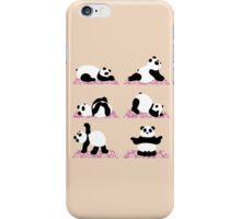 Panda Yoga iPhone Case/Skin