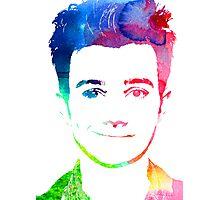 chris rainbow Photographic Print