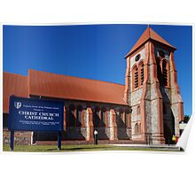 Anglican Cathedral, Stanley, Falkland Islands Poster