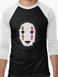 The Mask that Hides Men's Baseball ¾ T-Shirt