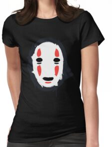 The Mask that Hides Womens Fitted T-Shirt
